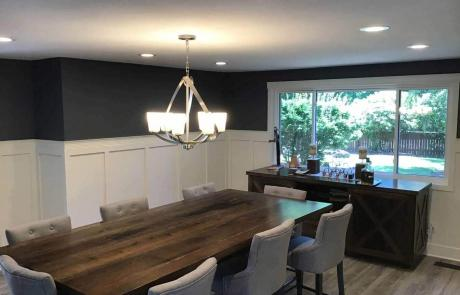 Whole Home Remodel Dining Room and Floor