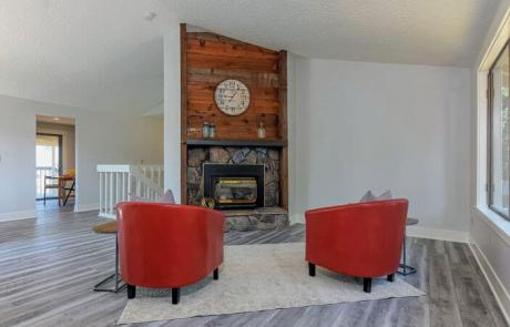 Contempory Living Room Remodel