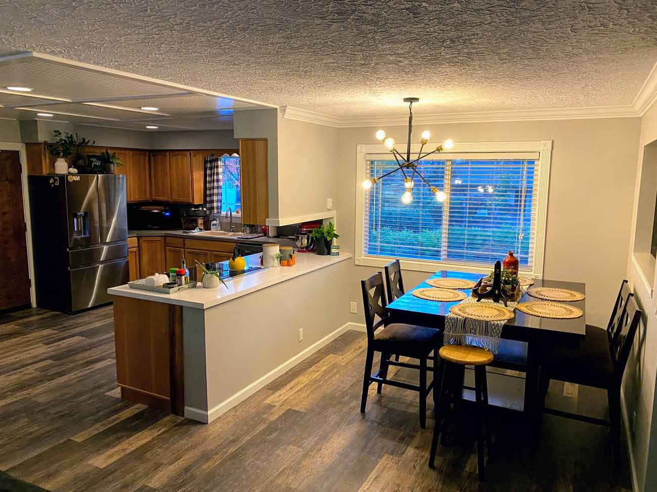 Home Remodel Dining Room Kitchen Update