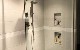 Whole Home Remodel Master Bathroom Walk-in Shower