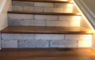 Whole Home Remodel Stair Detail